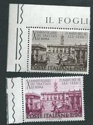 Italia 1967; Decennale Dei Trattati Di Roma, Serie Completa Di Bordo. - 1961-70: Mint/hinged