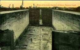 PANAMA - View Of The Lock Chamber Of Gatun - Panama