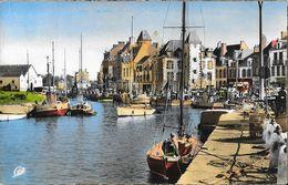Le Croisic - Le Port - Carte CAP Colorisée N° 1606 - Le Croisic