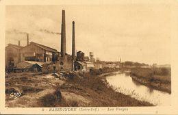 Basse-Indre (Loire-Inférieure) - Les Forges - Edition Artaud Père Et Fils, Carte Gaby Non Circulée - Basse-Indre