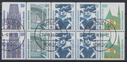 Deutschland (BRD), Michel Nr. H-Blatt 38, Gestempelt - Se-Tenant