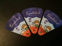 """Étiquettes  De Portions De Fromages """"FONDELICE"""" . - Fromage"""