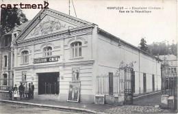 """RARE CPA : HONFLEUR """" EXCELSIOR CINEMA """" RUE DE LA REPUBLIQUE 14 CALVAODS - Honfleur"""