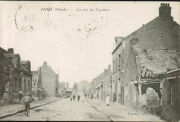 Iwuy - La Rue De Cambrai - France