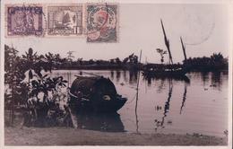 POSTAL INDO-CHINE - R.E.C.P. 21927 - Indochina (1889-1945)