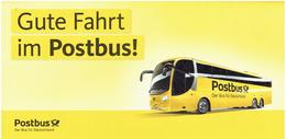 Tickethülle Deutsche Post / Postbus (keine Postkarte) - Busse & Reisebusse