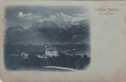 Schloss Ambras Bei Innsbruck - Mondscheinkarte (3921) - Innsbruck