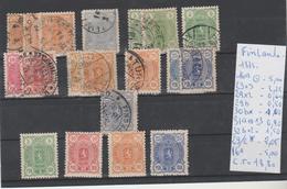 TIMBRE DE Finlande > 1856-1917 Administration Russe > Neufs NR VOIR SUR PAPIER AVEC TIMBRES COTE 18.80€ - Neufs