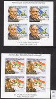 Congo Kinshasa 2002 Concorde Nobel Physics Prize Kapitsa Appleton 2 Sheetlets/4 IMPERF MNH (2 M/s) - Concorde