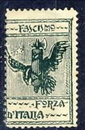 Erinnofili, Italia, Anni Venti, Fascismo Forza D'Italia - Italia