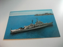 NAVE SHIP SCHIFF BATEAU  GUERRA INCROCIATORE LANCIAMISSILI C. DUILIO 554 - Guerra