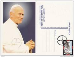 Romania, Rumanien,Roumanie -Religion-Papa Ioan Paul II-Pope-1999 - Päpste