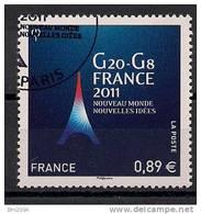 2011 France Mi. 5158 Used    G 20  G 8 France 2011 - France