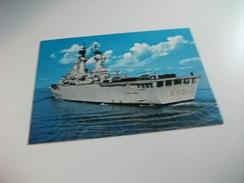 NAVE SHIP SCHIFF BATEAU GUERRA INCROCIATORE LANCIAMISSILI E PORTAELICOTTERI VITTORIO VENETO 550 ELICOTTERI SUL PONTE - Guerra