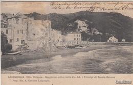 LAIGUEGLIA _Villa Chiappa_Soggiorno Estivo Delle L.L-A.A I Principi Di Savoia VG1905 X Torino Originale D´epoca 100% - Italy