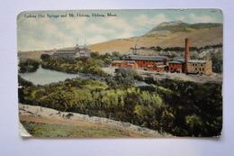 United States Montana   Helena Montana Hot Springs Mt Helena 1918  A 120 - Helena