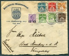 1926 Denmark Ostergaards Missionhotel, Aalborg Cover - Bad Homberg, Germany - Covers & Documents