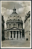 1939 Denmark Copenhagen Marmorkirken RP Postcard. Charlottenlund - Germany - Covers & Documents