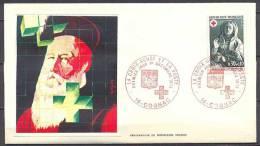 France Enveloppe Premier Jour FDC YT N°1779 Croix-Rouge Sépulchre De Tonnerre Oblitération COGNAC - Louis Pasteur
