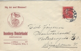 Sweden - Cover Sent To Denmark 1927.  H-851 - Suède