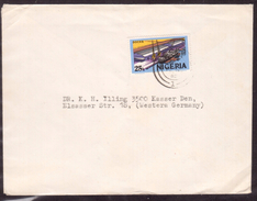 KN72     LETTER FROM NIGERIA ORON TO GERMANY 1982 - Nigeria (1961-...)