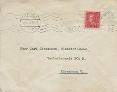 Sweden - Cover Sent To Denmark 1929.  H-1094 - Suède