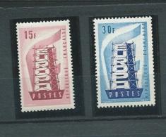 France  Série   Yvert N° 1076  /   1077   , 2 Valeurs **  - Ah20602 - France