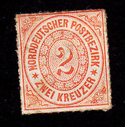 North German Confederation, Scott #8, Used, Number, Issued 1868 - North German Conf.
