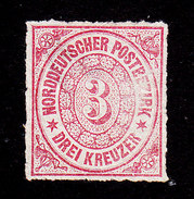 North German Confederation, Scott #9, Mint No Gum, Number, Issued 1868 - Conf. De L' All. Du Nord