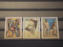 MALI - P.A. 1967 QUADRI  3 VALORI - NUOVI(++) - Mali (1959-...)