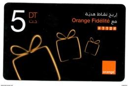 Phonecard Télécarte Orange Tunisia Tunisie Telefonkarte Telefonica - Tunisie