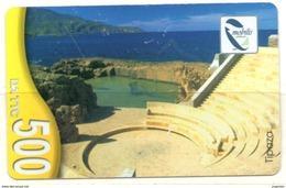 Phonecard Télécarte Mobilis Algérie Algeria - Tipaza Theater Theatre Roman Ruins Teatro Telefonkarte