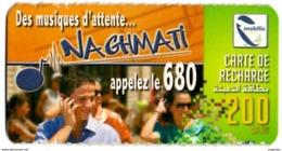 Phonecard Télécarte Mobilis Algérie Algeria - Musiques D'attente Waiting Music Telefonkarte Telefonica - Algeria