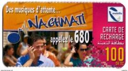 Phonecard Télécarte Mobilis Algérie Algeria - Musiques D'attente Waiting Music Telefonkarte Telefonica