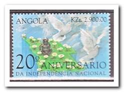 Angola 1996, Postfris MNH, Flowers, Pigeons - Angola