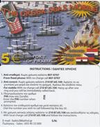 GREECE - Port Of Piraeus, The Greek Seas, Amimex Prepaid Card 5 Euro(807 0707), Sample - Greece