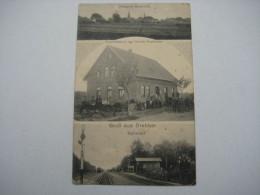 DREBBER , Bahnhof  , Schöne Karte Um 1915 - Allemagne