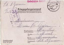 Camp De Prisonniers Stalag II D Enveloppe - Marcophilie (Lettres)