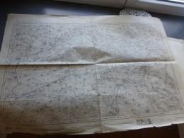 DOUAI,  Guerre 14-18 Carte Etat Major 1882 ; Ref 228 G 11 - Geographical Maps