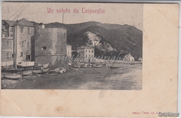 Un Saluto Da Laigueglia_- Originale D´epoca 100% - Italien