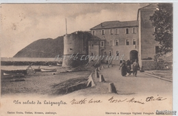 Un Saluto Da Laigueglia_-Vg -1900 Originale D´epoca 100% - Italien