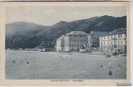 Laigueglia_Spiaggia-Vg -1920 Originale D´epoca 100% - Altre Città