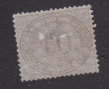 North German Confederation, Scott #25, Mint No Gum, Number, Issued 1869 - Conf. De L' All. Du Nord