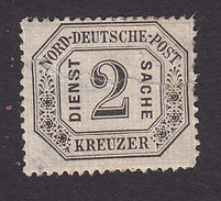 North German Confederation, Scott #O7, Mint Hinged, Number, Issued 1870 - North German Conf.