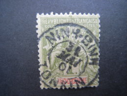 1892 1f Olive. Fine Cds Used. Yv 15