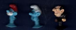 SCHTROUMPFS 3 Figurines : Gargamel, Grand Schtroumpf, Costaud - Smurfen
