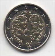 BELGIQUE - 2€ Commémorative 2011 - UNC - Neuve - Belgique