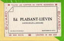 Buvard & Blotting Paper : Ed PLAISANT LIEVIN  Saint Omer - Stationeries (flat Articles)