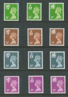 GRANDE-BRETAGNE - 1991 - REGIONAUX - NEUFS ** LUXE/MNH - Yvert # 1579/1590 - Série Complète 12 Valeurs - Unclassified