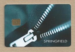 Tarjeta De Springfield Cadena Española De Tiendas De Moda Fashion Store Card Carte D'achats Mode Cartão Loja Moda - Otros